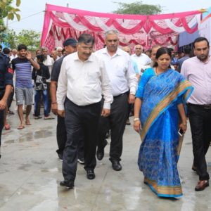 Smt Kavita Jain, Women & Child Development Minister, Government of Haryana visited the School adopted by us in Sonipat.